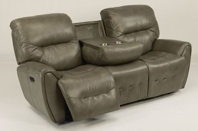 Brynn Gray Power Sofa