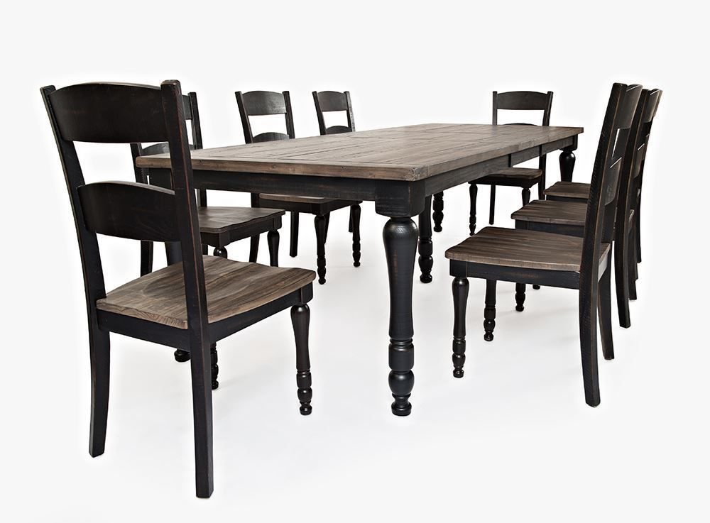 Picture of Madison Black Rectangular Extension Table Only