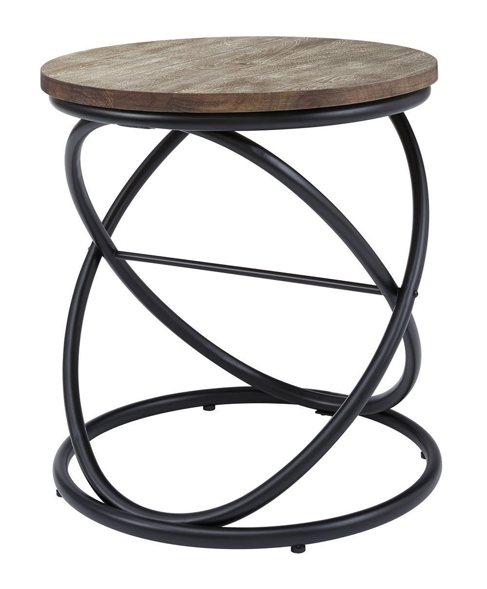 Picture of Charliburi Brown Round End Table