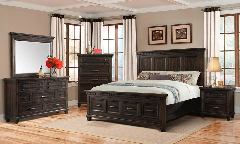 Picture of McCabe Queen Storage Bed Set