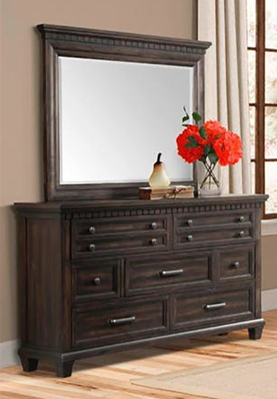 Mccabe Dresser And Mirror Set The Furniture Mart