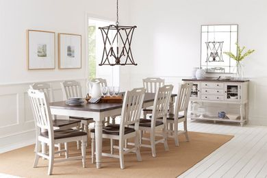 Orchard Park Extension Dining Table with Six Chairs