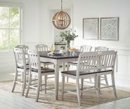 Orchard Park Counter Extension Table with Six Stools