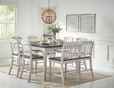 Orchard Park Counter Extension Table with Four Stools