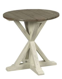 Reclamation Place Round End Table