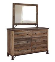 Antique Multi Dresser and Mirror