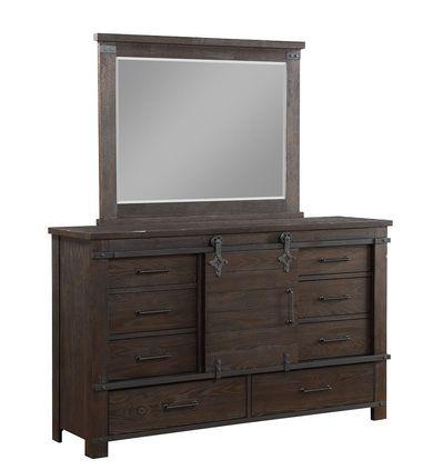 Newtown Dresser and Mirror