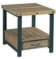 Workbench Rectangular End Table