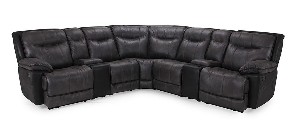 Ivey Gray Six Piece Sectional Unclaimed Freight Furniture