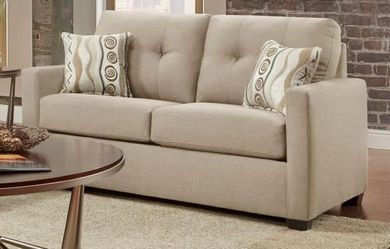Mitchell Sand Loveseat