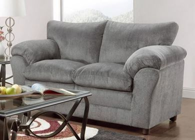 Kelly Grey Loveseat