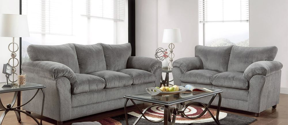 Picture of Kelly Grey Loveseat