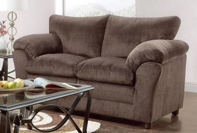 Kelly Chocolate Loveseat