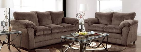 Picture of Kelly Chocolate Sofa