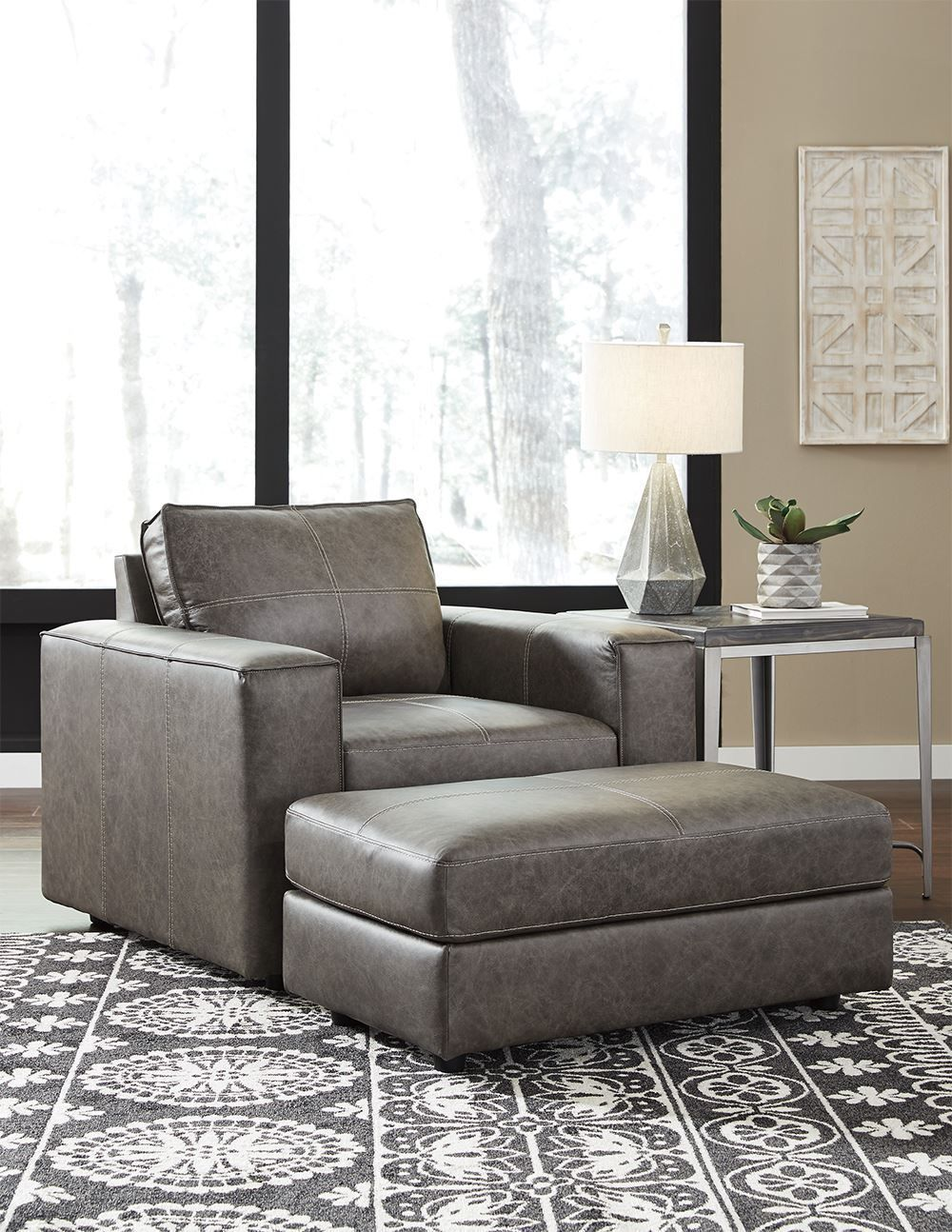 Picture of Trembolt Smoke Ottoman
