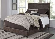 Dolante Brown Queen Upholstered Bed Set