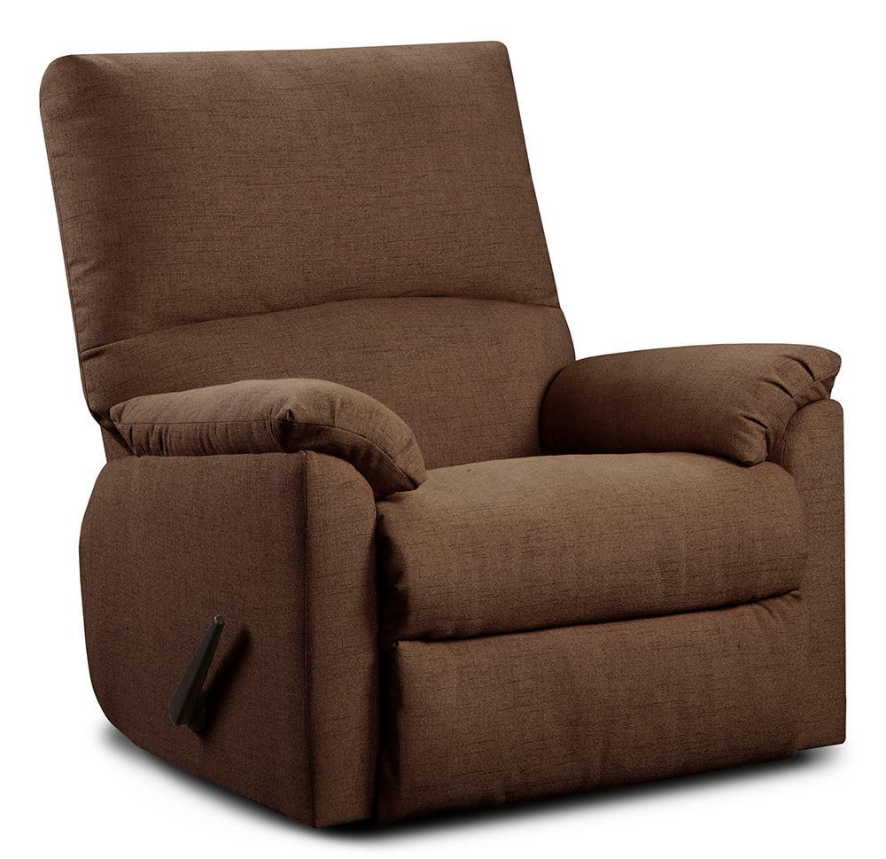 Picture of Mitchell Chocolate Rocker Recliner