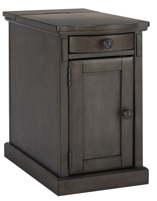 Picture of Laflorn Gray Chairside End Table