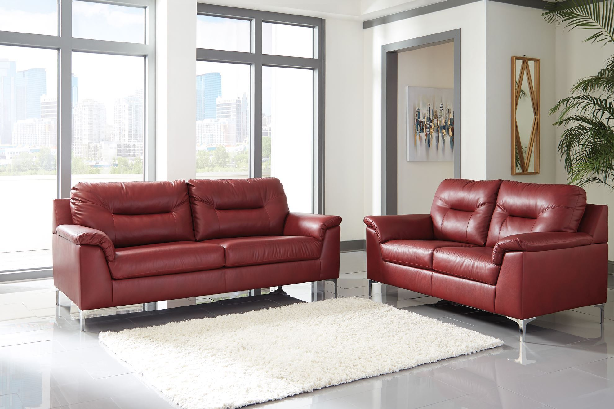 Picture of Tensas Crimson Sofa