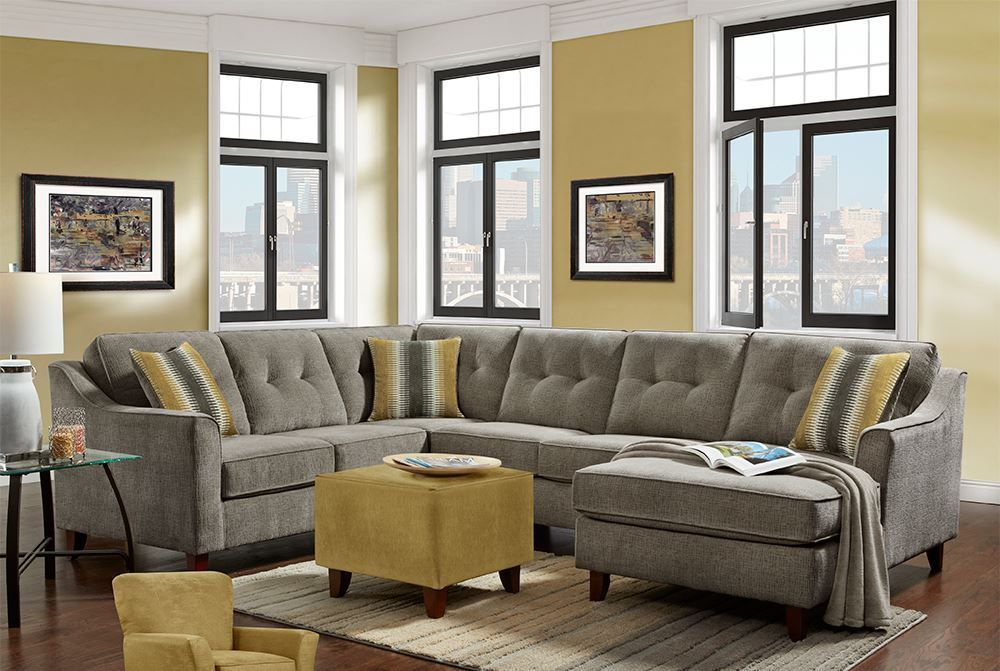 Picture of Sydney Gray Three Piece Sectional