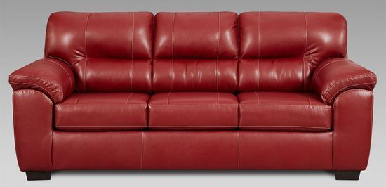 Picture of Austin Red Sofa