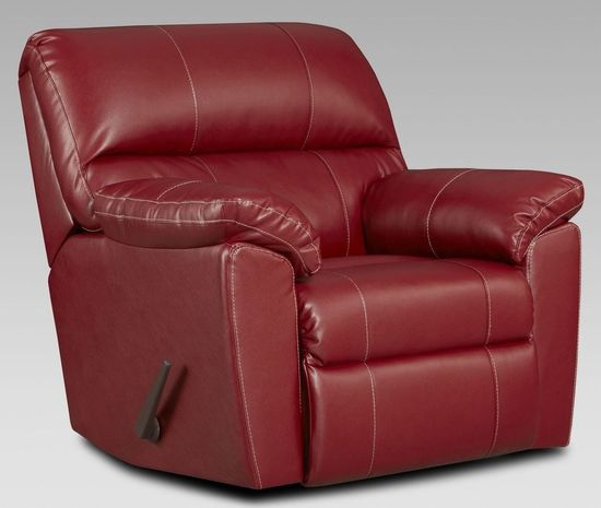 Picture of Austin Red Rocker Recliner