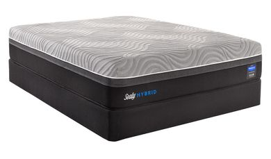 Sealy Kelburn II Adjustable Head and Foot-California King Mattress Set