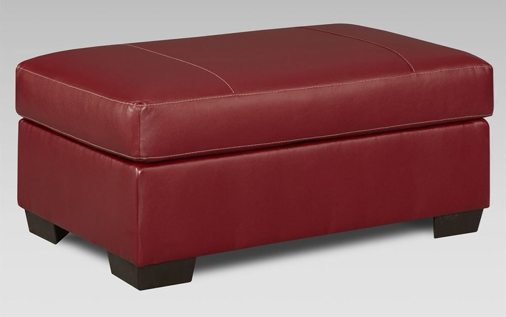 Picture of Austin Red Ottoman