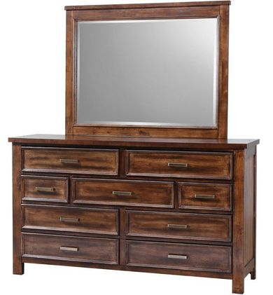 Sully Dresser and Mirror