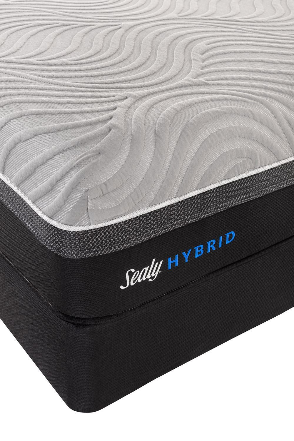 Picture of Sealy Kelburn II Low Profile Boxspring-Queen Mattress Set