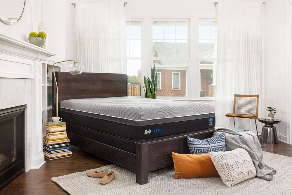 Picture of Sealy Kelburn II Split Boxspring-Queen Mattress Set