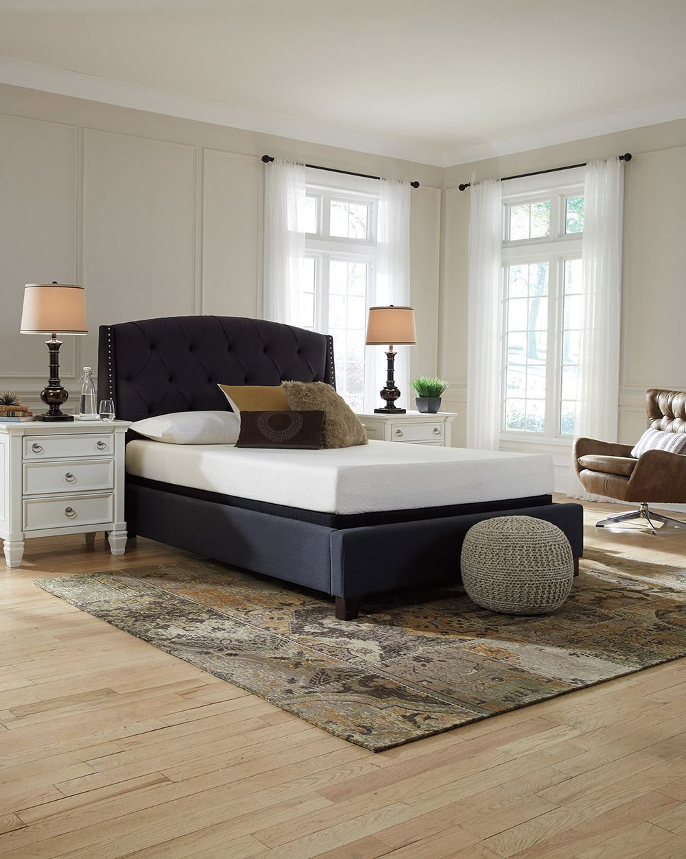 Picture of Ashley Chime 8 Inch Adjustable Head-Queen Mattress Set