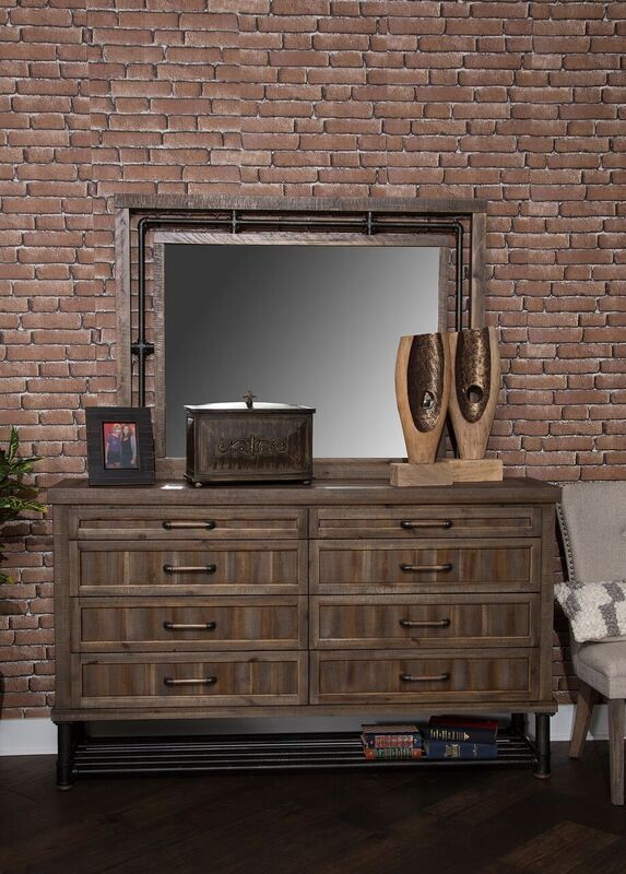 Picture of Crossings Dresser and Mirror
