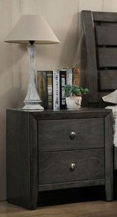 Evan Grey Nightstand