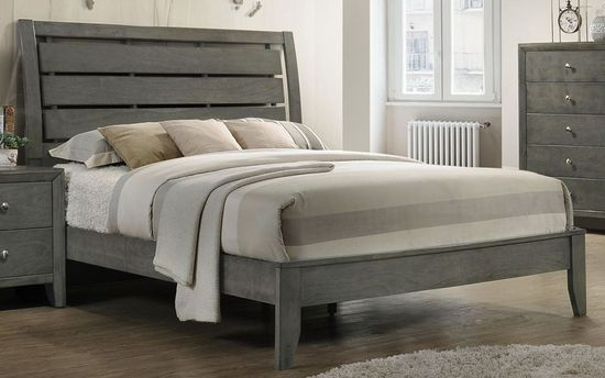 Picture of Evan Grey King Bed Set