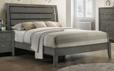 Evan Grey Queen Bed Set