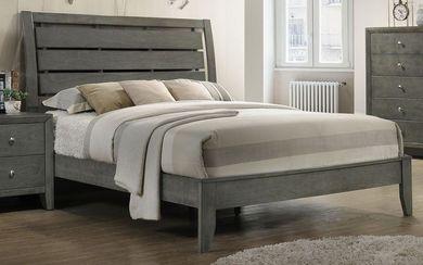 Evan Grey Queen Bed Set