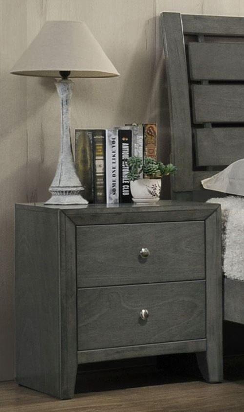 Picture of Evan Grey King Bedroom Set