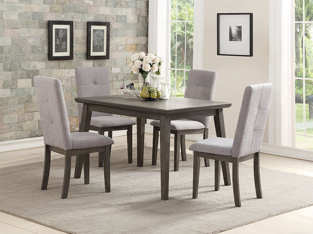 Picture of Clover Dining Table with Four Chairs