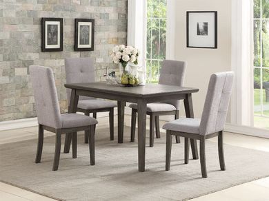 Clover Dining Table with Four Chairs