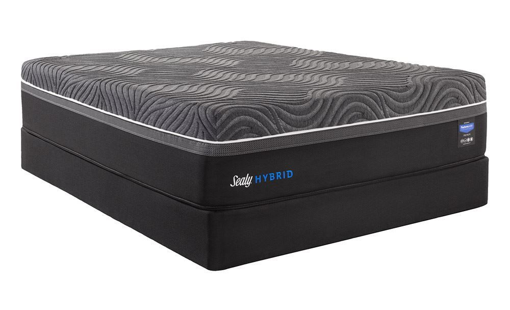 Picture of Sealy Silver Chill Firm Standard Boxspring-Queen Mattress Set