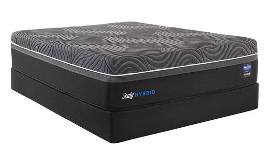 Picture of Sealy Silver Chill Firm Low Profile Boxspring-Queen Mattress Set