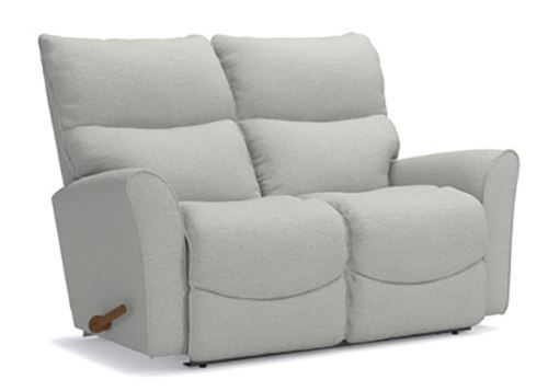 Picture of Rowan Platinum Reclining Loveseat