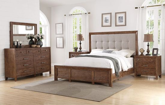 Picture of Hampton King Upholstered Bedroom Set