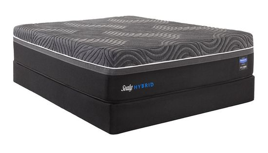 Picture of Sealy Silver Chill Plush Adjustable Head and Foot-Full Mattress Set