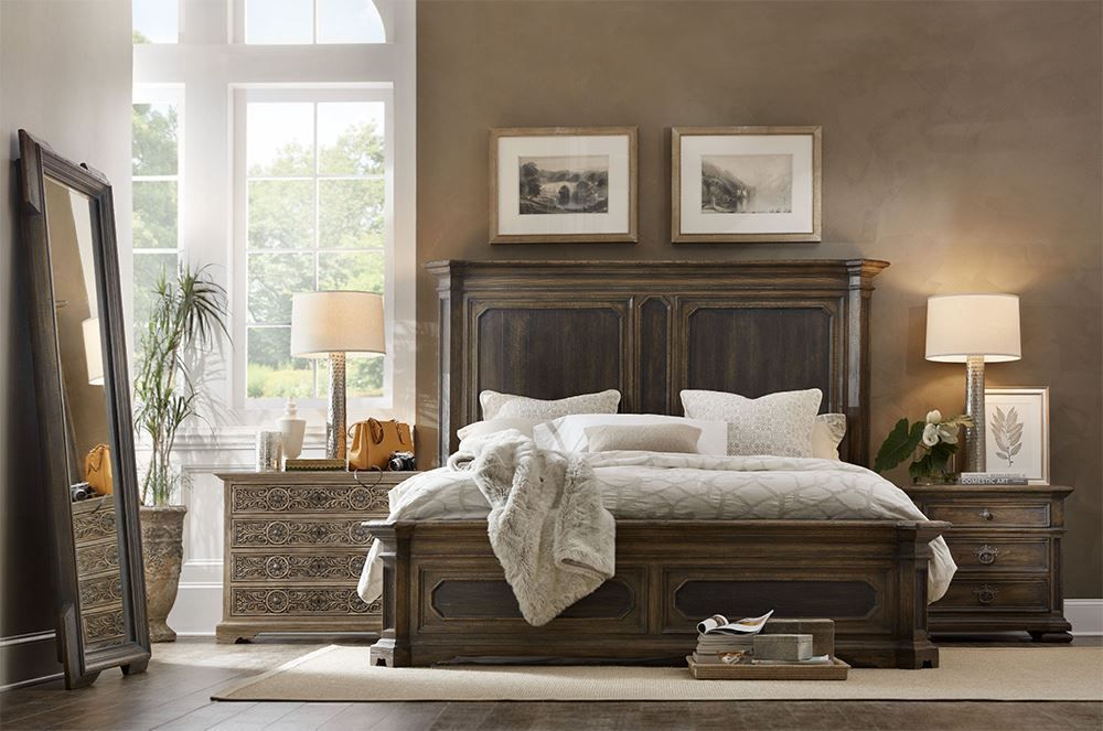 Picture of Hill Country Three Drawer Nightstand
