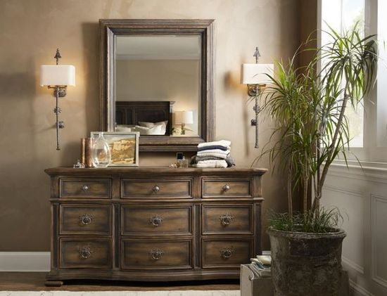 Picture of Hill Country Dresser and Mirror