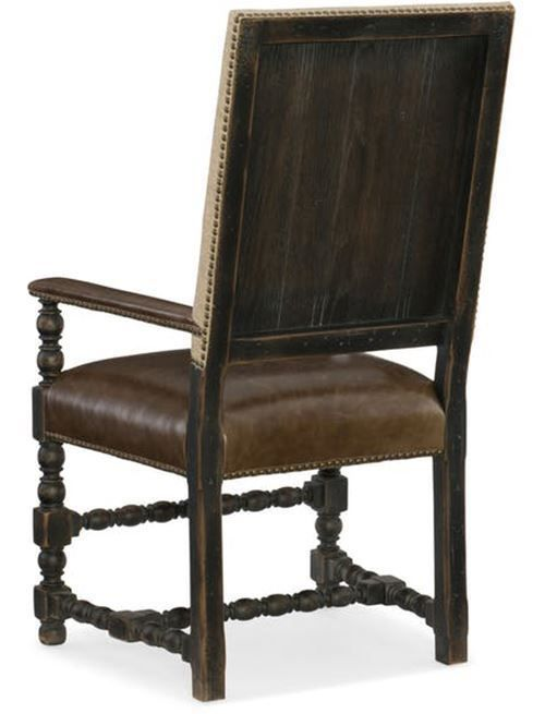 Picture of Hill Country Rectangular Table with Four Side Chairs and Two Arm Chairs