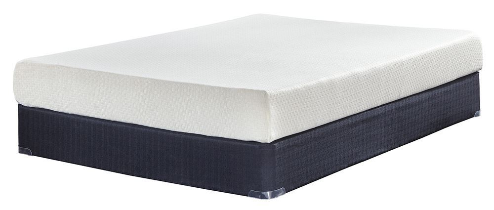 Picture of Ashley Chime 8 Inch Adjustable Head Foot and Massage Full Mattress Set