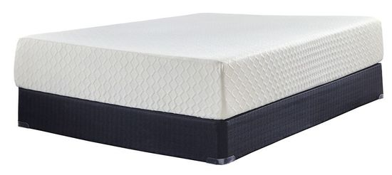 Picture of Ashley Chime 12 Inch Standard Boxspring Twin Mattress Set